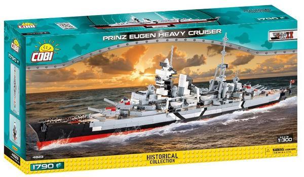 Thalia Cobi 4823 Prinz Eugen / Klemmbausteine