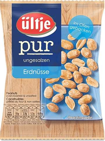 [ALDI-Nord] ültje - Erdnüsse pur 250g Beutel + Cashback ->1,09€