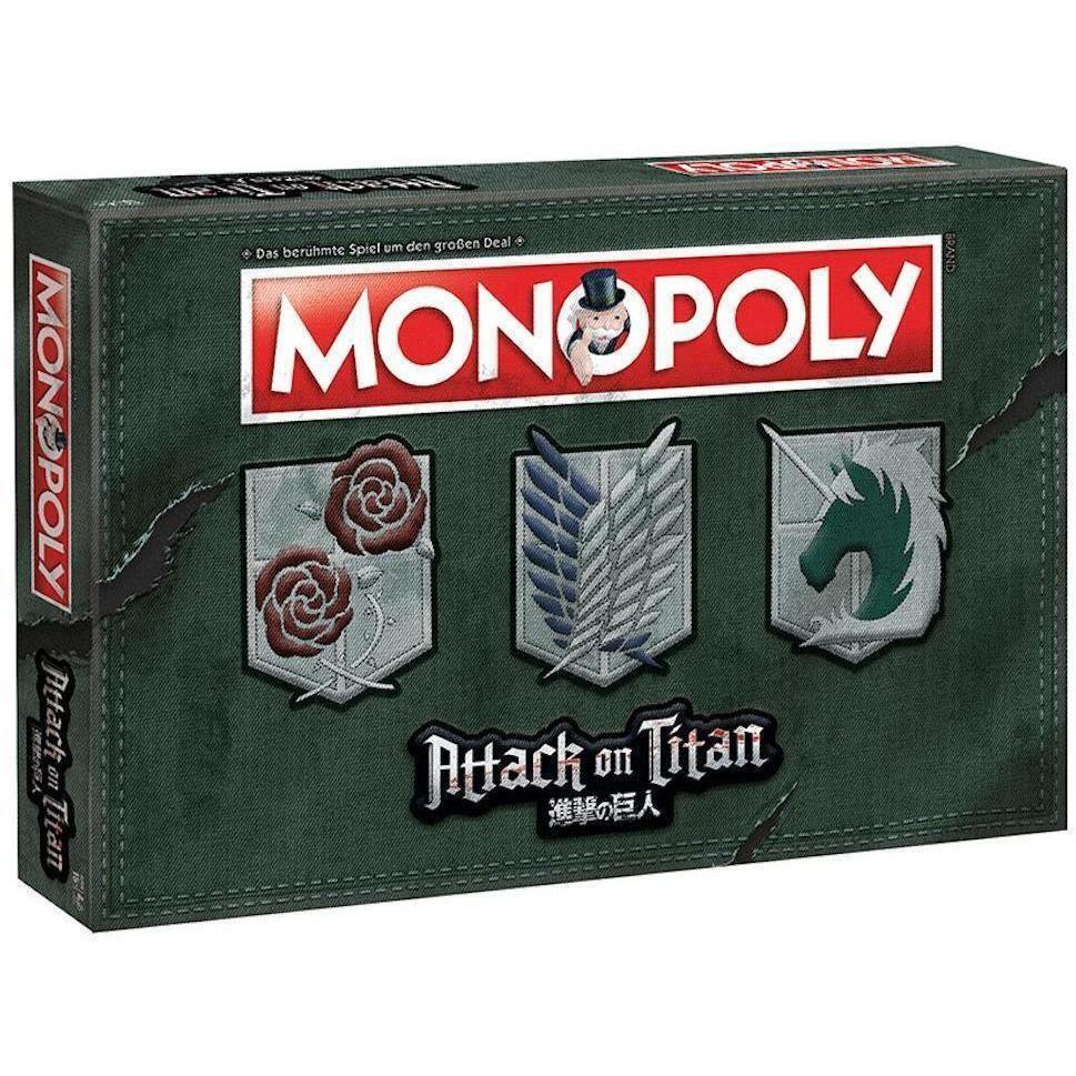 Attack on Titan - Monopoly (deutsche Version)
