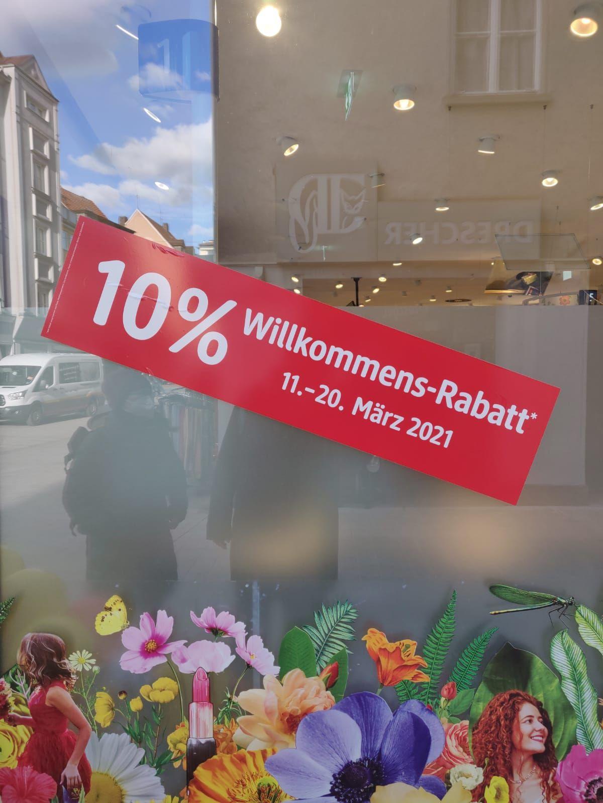 [lokal Würzburg] dm Würzburg Eichhornstraße: 10% Rabatt bei Einkauf