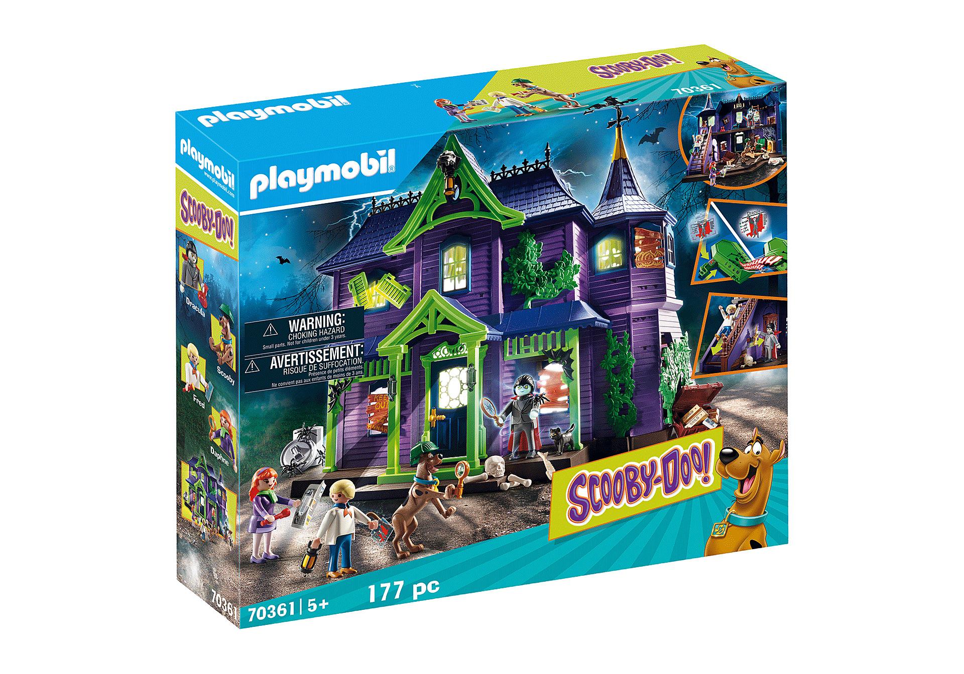 Real b ware : - wie neu- Playmobil Scooby Doo Abenteuer im Geisterhaus , erschienen Anfang 2020 ... mit vielen Figuren/Spielfunktionen