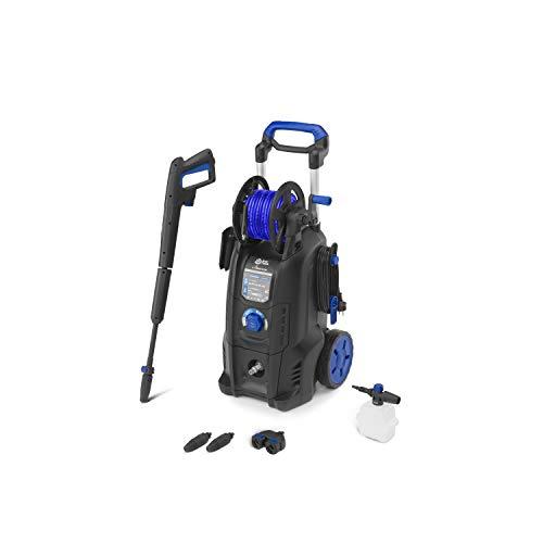 AR Blue Clean e-4 TWIN FLOW Hochdruckreiniger mit Dualtech System (2500 W, 150 bar, 810 l/h)