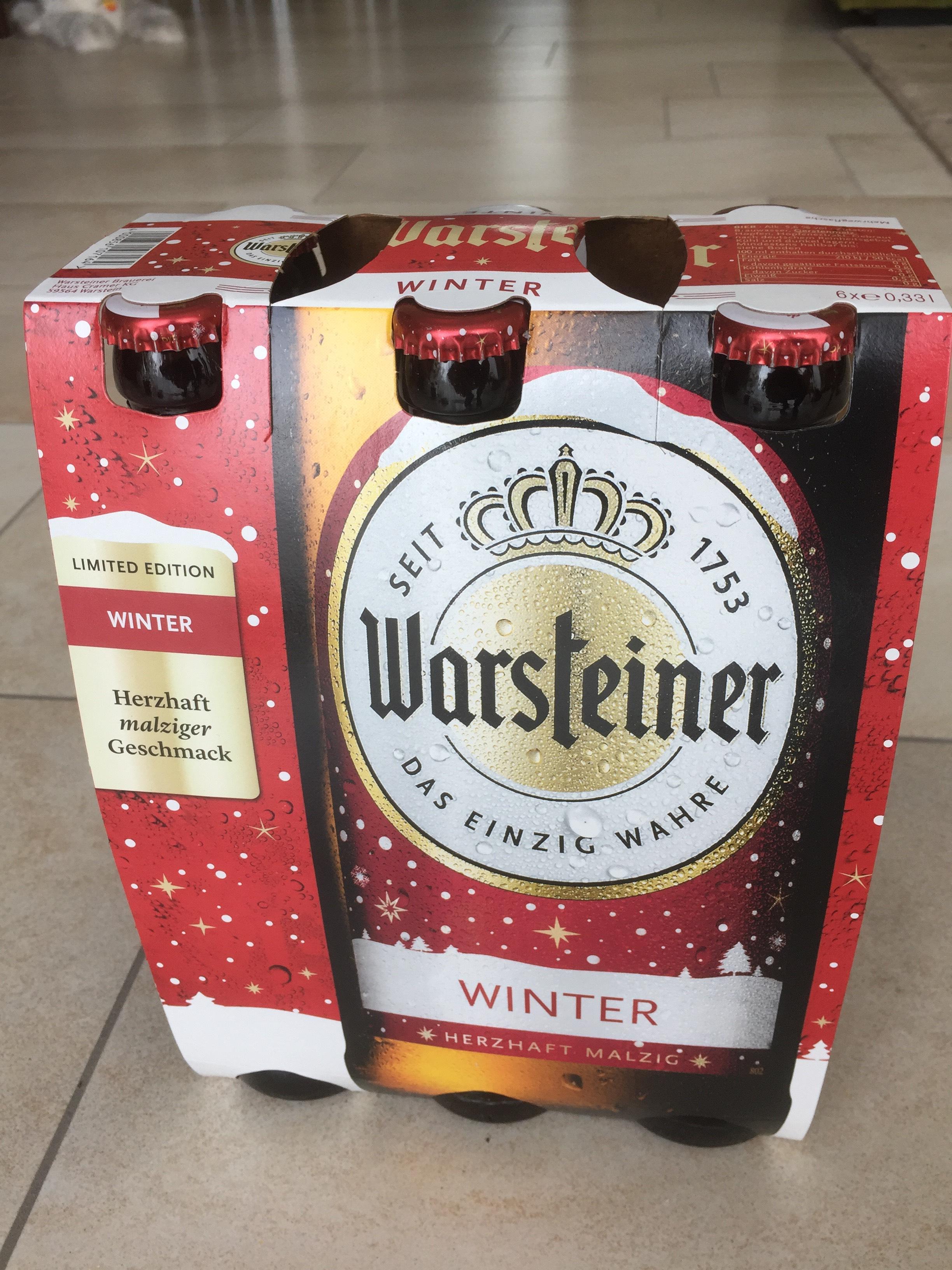 (Lokal Essen Borbeck) Trink und Spare Gratis 6x0,33l Warsteiner Winter gegen Pfand
