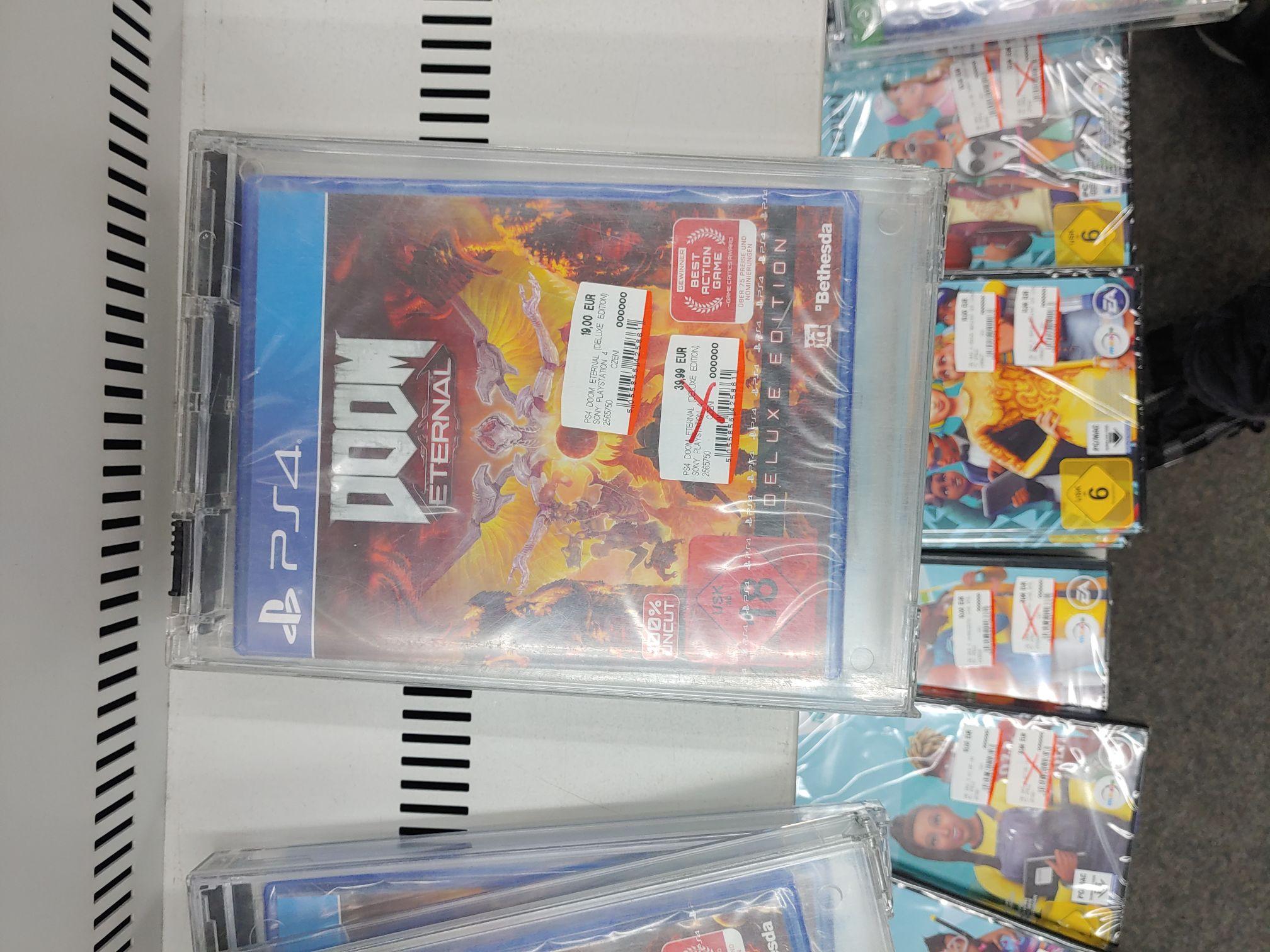 Lokal Media Markt Saarlouis Ps4/Xbox Doom Eternal Deluxe Edition