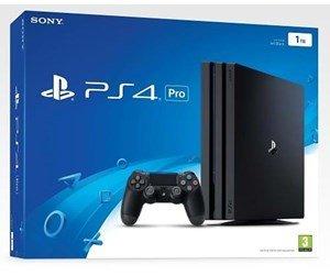 Sony Playstation 4 Pro - 1 TB (Black Edition) Spielkonsole, 4K, HDR, 1 TB HDD, Jet Black
