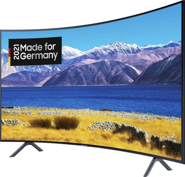 Samsung GU55TU8379U Curved-LED-Fernseher (138 cm/55 Zoll, 4K Ultra HD, Smart-TV, HD+ integriert (6 Monate gratis)