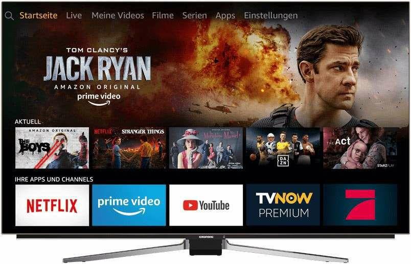 GRUNDIG55 GOB 9099 FIRE TV EDITION OLED 4K Fernseher