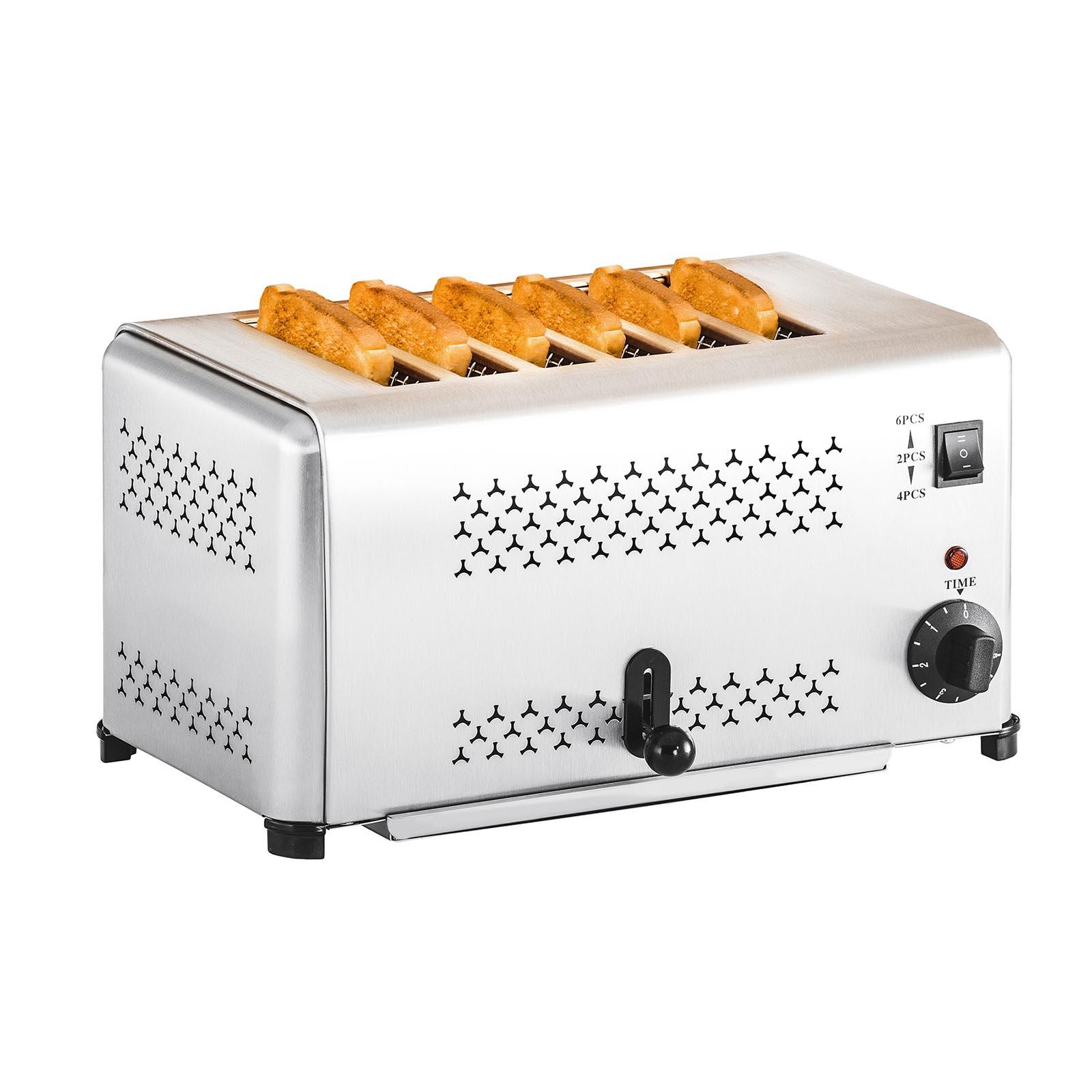 [ Expondo.de ] Royal Catering - 6 Schlitz Gastro-Toaster