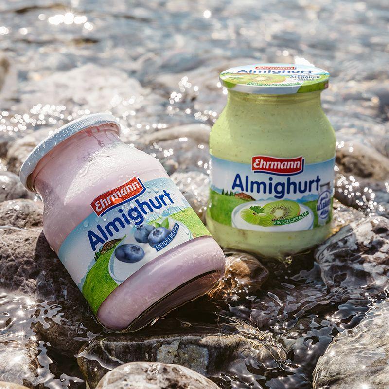 [Kaufland Do-Mi] Ehrmann Almighurt Joghurt 500g im Mehrwegglas für 0,88€