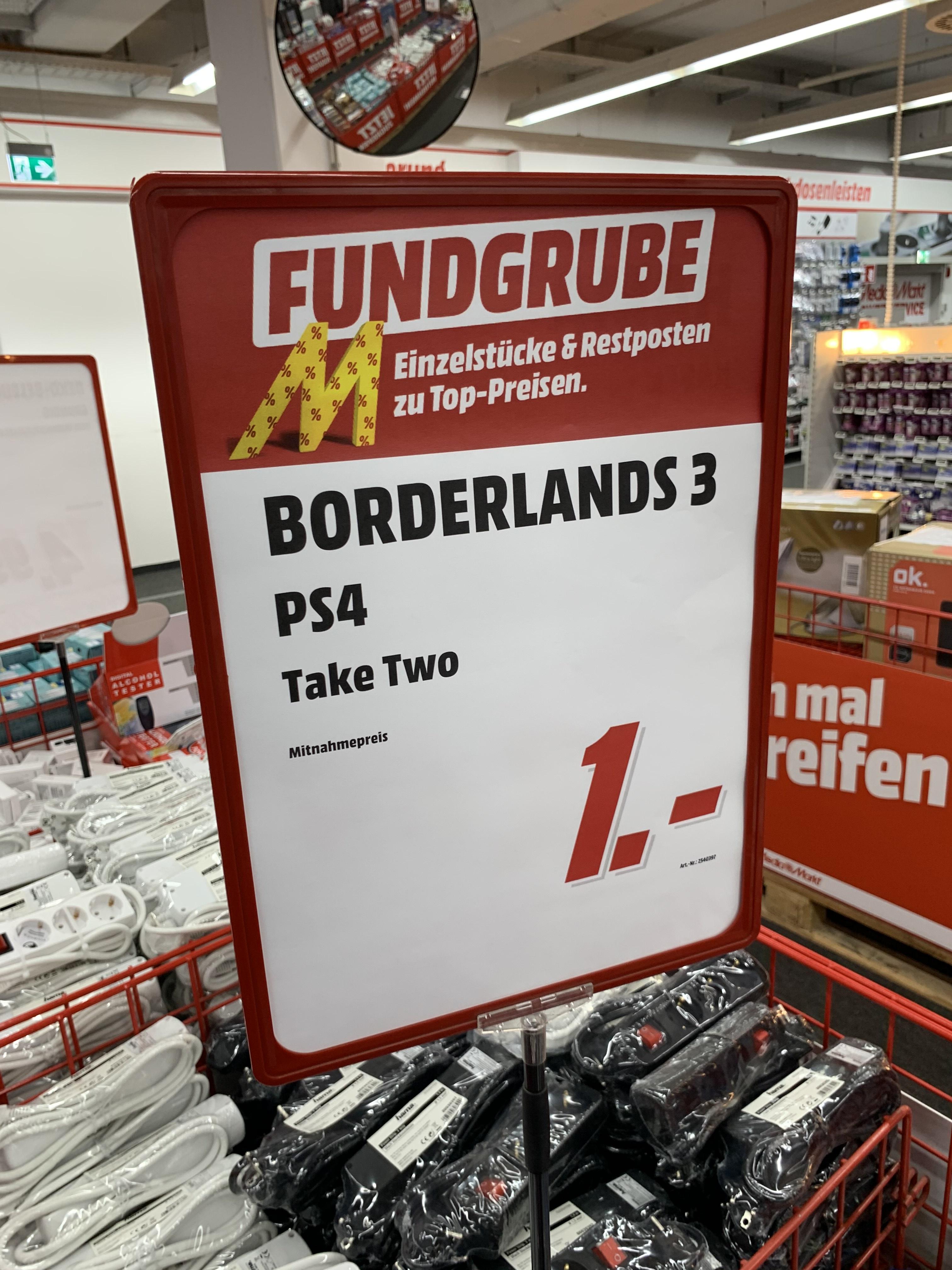 (Lokal Halstenbek) Borderlands 3 , PS4
