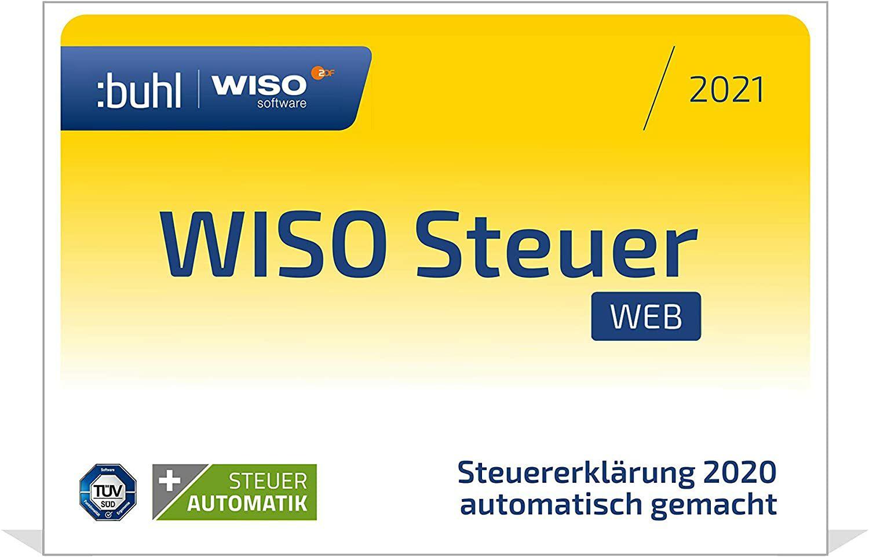 WISO Steuer-Web 2021 für je 19,99€ [Amazon]