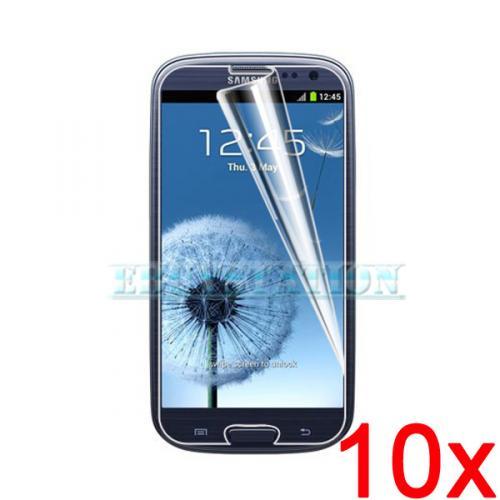 10 x Klar Displayfolie für Samsung Galaxy S3 für nur 1,79 EUR inkl. Versand!