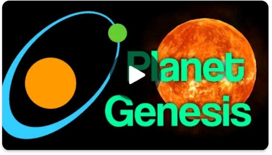 Planet Genesis - solar system sandbox
