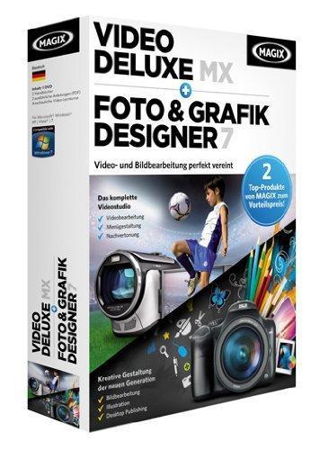 MAGIX Video Deluxe MX + MAGIX Foto & Grafik Designer 7 für nur 30,49 EUR inkl. Versand!