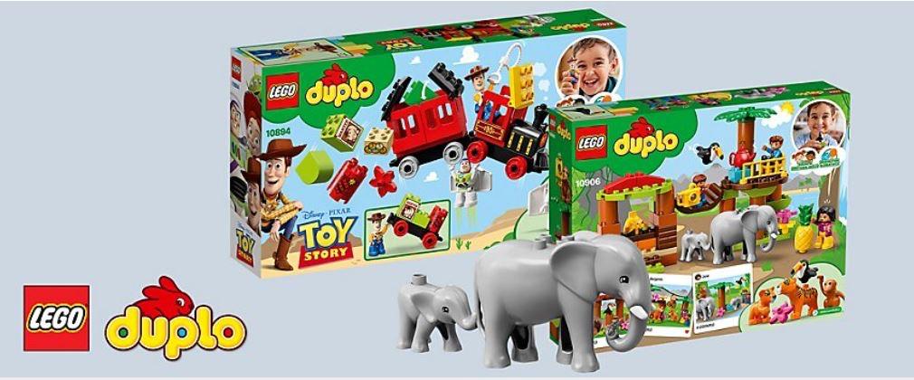 [myToys] 15% Extra-Rabatt auf LEGO DUPLO