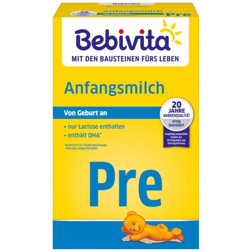 10% bei Kauf von 4x Bebivita Milchnahrung PRE Anfangsmilch, 2er Pack (2 x 500 g)