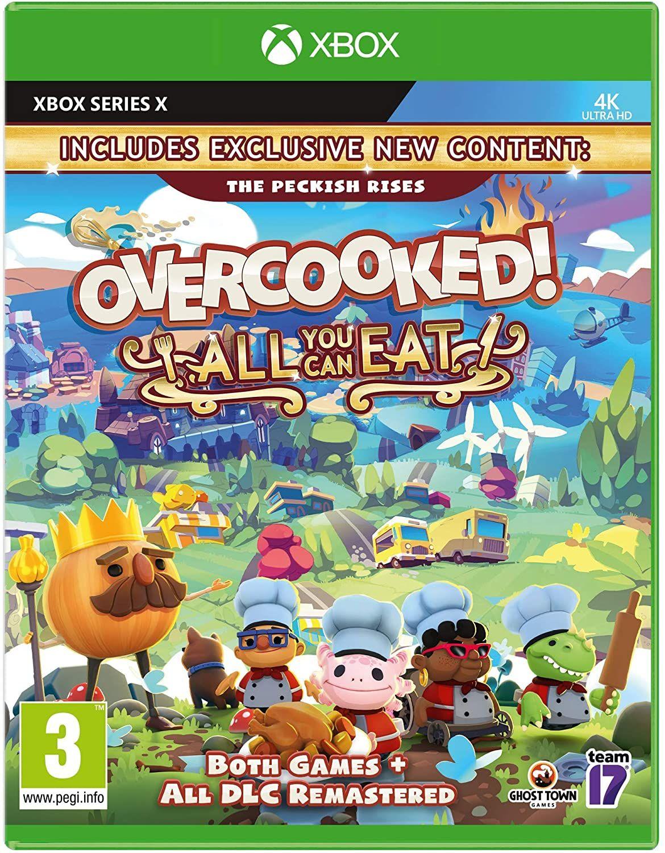 Overcooked! + Overcooked 2All You Can Eat (Xbox Serie x/s) [Amazon.co.uk]