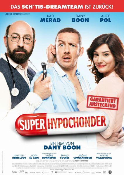 «Super-Hypochonder» (IMDb 6,0) mit Dany Boon kostenlos im Stream [3sat Mediathek]