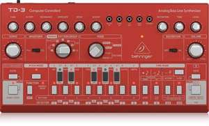 Behringer TD-3-RD Analog Bass Line Synthesizer rot