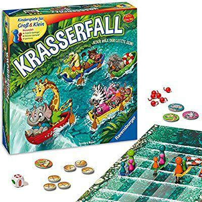[Amazon Prime] Ravensburger - 20569 - Krasserfall - rasantes Brettspiel für Familien und Kinder - Gesellschaftsspiel ab 6 Jahren