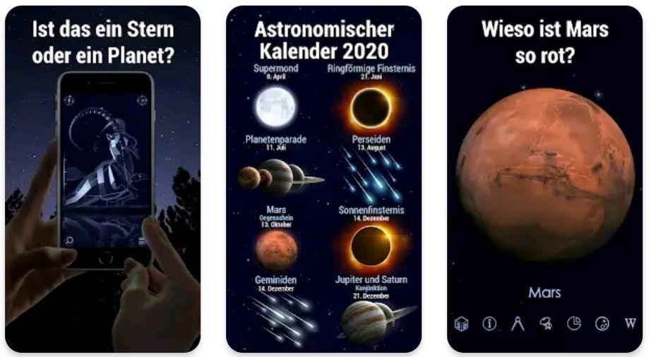 Star Walk 2 - Sterne & Sternbilder: Himmelskarte