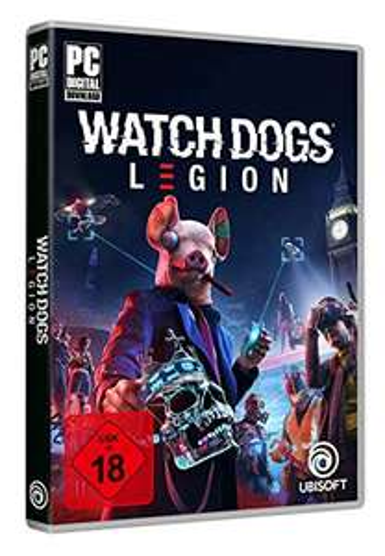 Watchdogs LEGION für PC 19,99 + 5 EUR FSK Versand bei Amazon