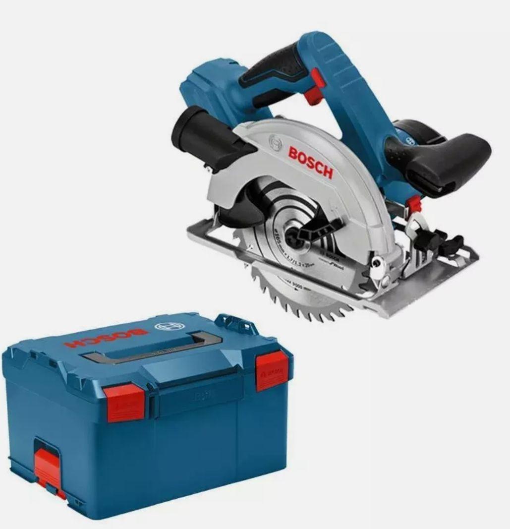 Bosch Professional GKS 18v 57 G mit Gutschein auf Ebay, Ursprungspreis auf Rechnung 179 somit berechtigt für GBA 4.0 AH aus Bosch Aktion