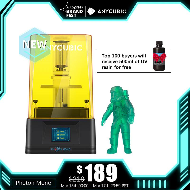 Anycubic Photon Mono MSLA 3D Drucker