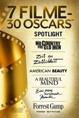 [iTunes] 7 Filme - 30 Oscars für 29,99€ (1€ pro Oscar) (Kauf)