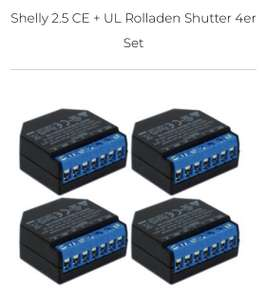 Shelly 2.5 (4er-Pack) im Rasppishop
