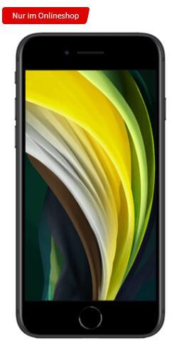 Apple iPhone SE 64GB alle Farben für 1€ einmalig, 19,99€ monatlich im MD Vodafone green LTE 10GB (O2 Blue 12GB für 29€ einmalig) + 20€ Shoop