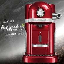 150 Euro Rabatt auf die KitchenAid Nespresso inkl. feel good COFFEE Starter-Pack bei Ramershoven
