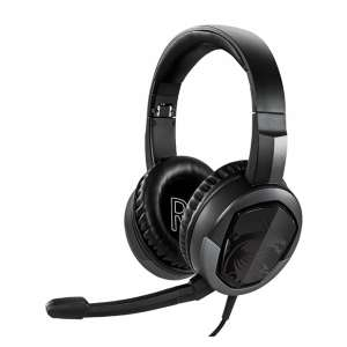 MSI Immerse GH30 V2 Gaming-Kopfhörer, faltbar, mit Mikrofon