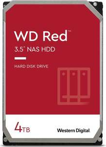 """WHD WD Red 4TB NAS 3.5"""" Interne Festplatte - 5400 RPM Class, SATA 6 Gb/s, SMR, 256MB Cache"""