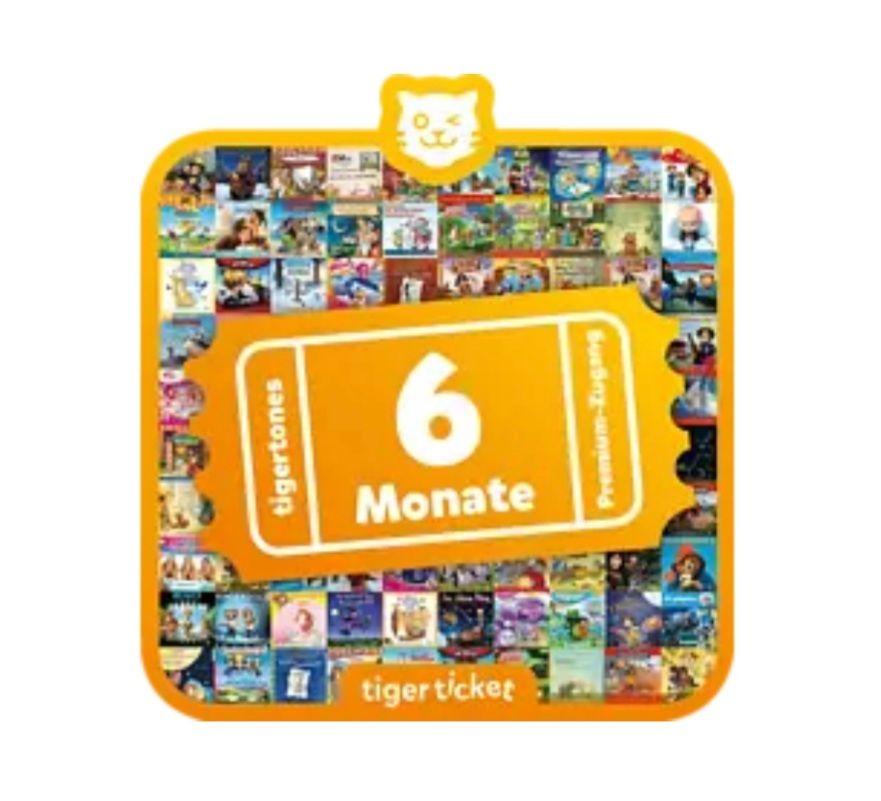 12 Monate Tigerticket (2 × 6 Monate) für 60 EUR
