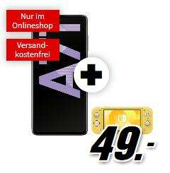 SAMSUNG Galaxy A71 128GB alle Farben + Nintendo Switch Lite im Vodafone MD green LTE 10GB für 19,99€ monatlich und 49€ einmalig, + 6€ Shoop