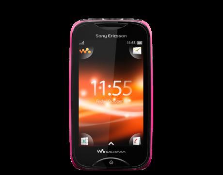 Sony Ericsson Mix Walkman Pink / Green für 49,99€ Versandkostenfrei 40% Ersparnis