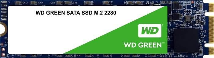 Western Digital WD Green SATA SSD 480GB (M.2, SATA, R545MB/s, W465MB/s, DRAM-less)