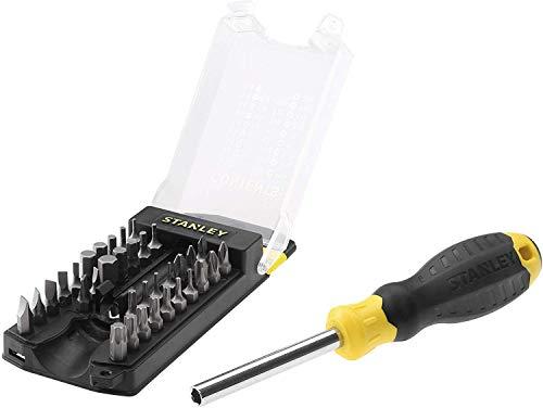 Stanley Multibit Schraubendreher Set 34 Teile STHT0-70885 für 6,05€ mit Prime