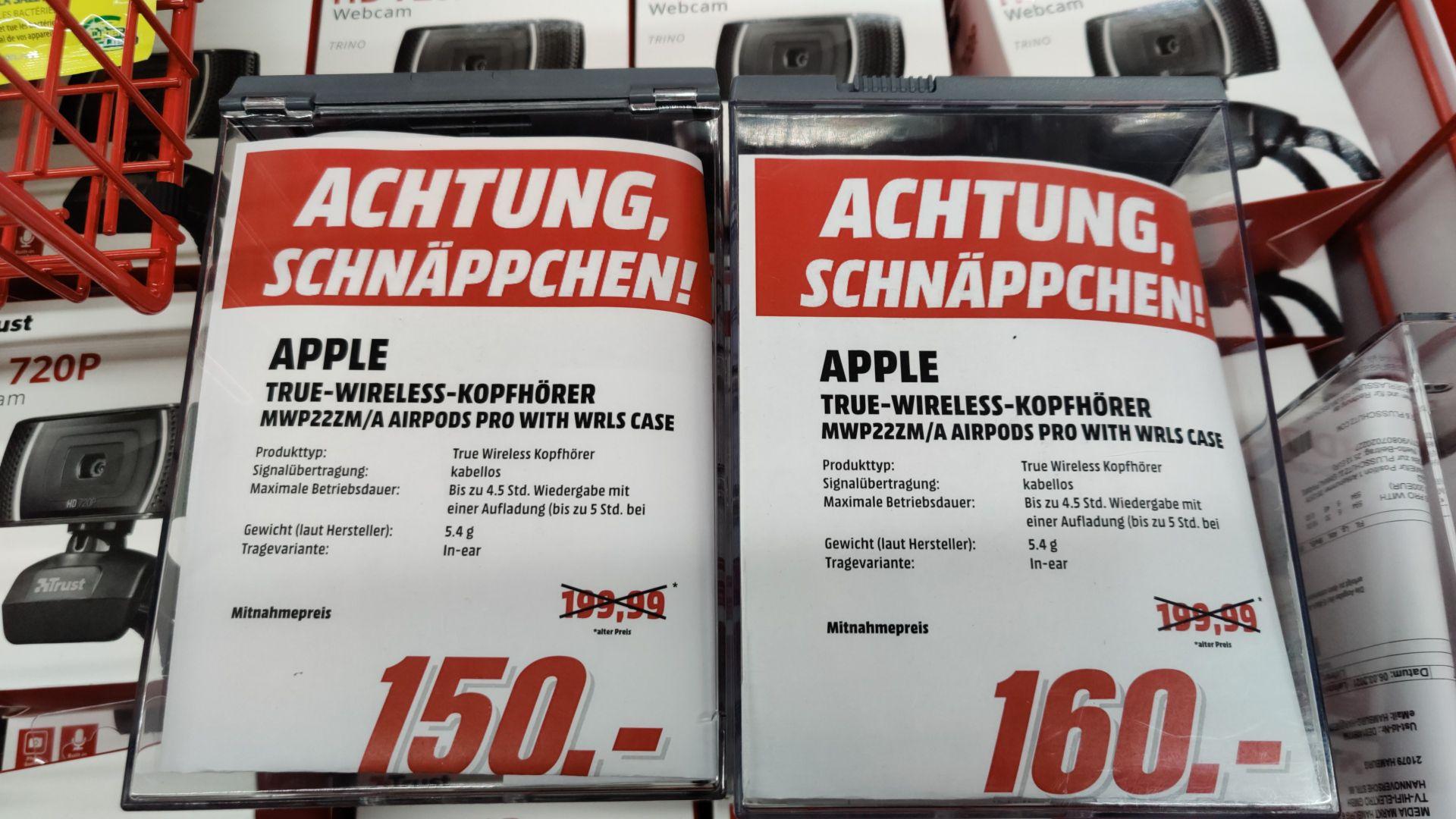 [Lokal MM Hamburg Harburg] Apple Airpods Pro Restposten