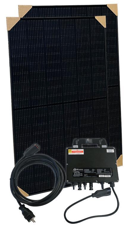 Balkonkraftwerk Mini PV Solar Set 680W + APSystems YC600 Microwechselrichter für 510€ (Abholung NRW) oder mit Speditionsversand für 575€