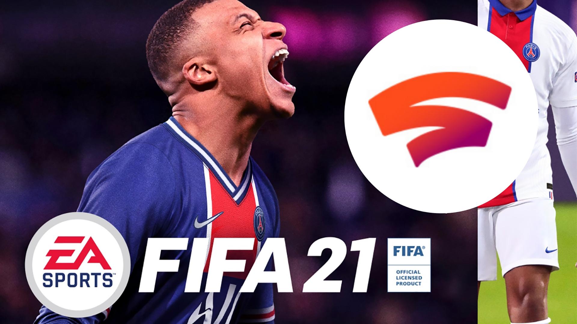 [Stadia] FIFA 21 und Ultimate und Champions Edition (ab 19,39 € mit Gutschein)