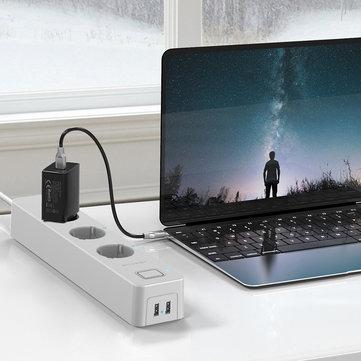BlitzWolf BW-SHP9 Smart Home 3-fach Steckerleiste 3300W 15A + 2x USB