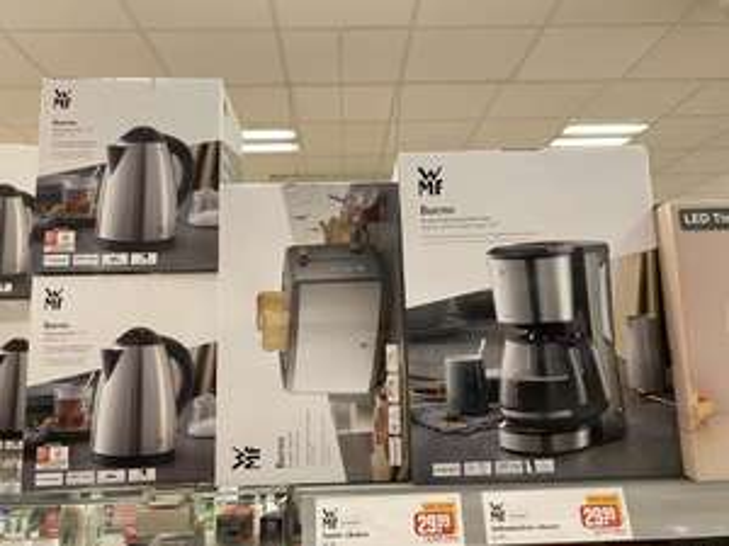 WMF Bueno Produkte Kaffeemaschine, Wasserkocher (Lokal Mainz)