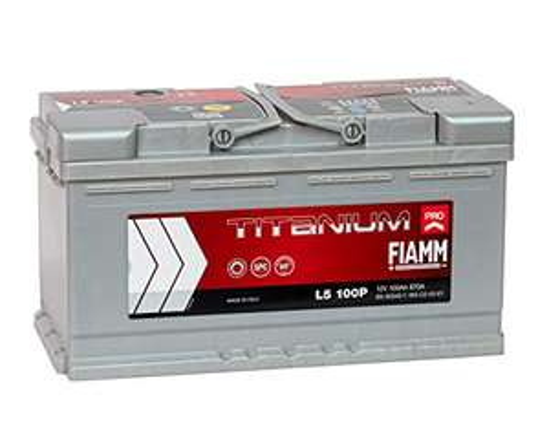 FIAMM Titanium Pro L5 100P Autobatterie 12 V / 90 AH / 800 A - Alternative zu Bosch oder Varta