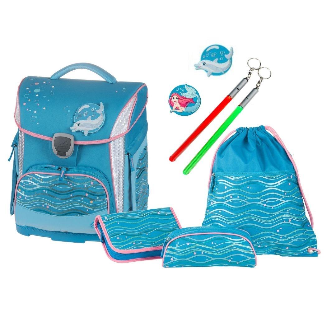 Schulranzenset 4tlg. Ocean blue SCHNEIDERS Toolbag Plus