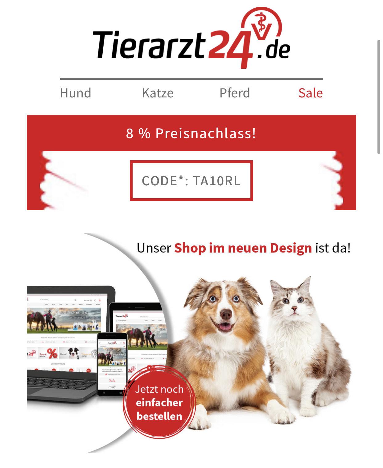 8% Rabatt auf Alles ab 49€ Einkaufswert