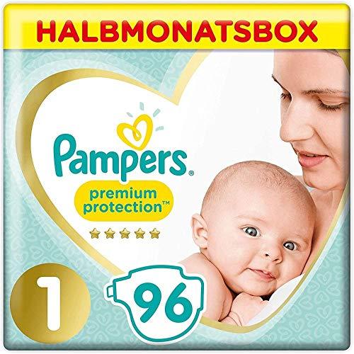 [Amazon Sparabo + Gutschein] Pampers Größe 1 Premium Protection Baby Windeln, 96 Stück