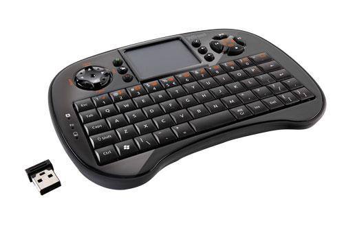TRUST Tocamy Mini Wireless Keyboard mit Multitouch + USB Empfänger für Raspberry oder MK802 / 8
