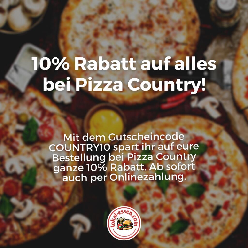 Pizza Country Oberhausen: 10% Rabatt [LOKAL]